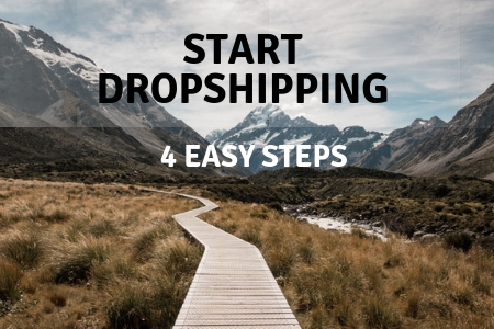 Start dropshipping businness in a 4 easy steps